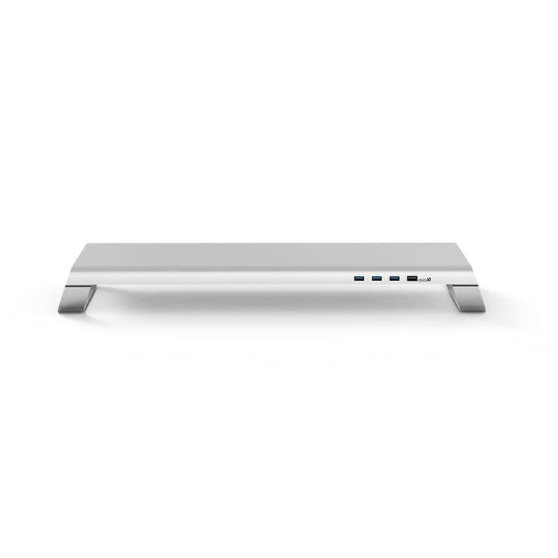 MiniS 多功能螢幕架-北歐銀