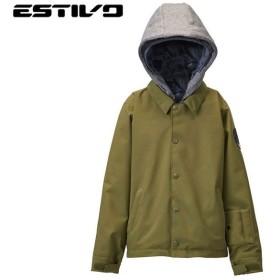 エスティボ ESTIVO キッズ コーチ ジャケット EVJ1960 MS キッズ EV-KIDS'COACH JKT