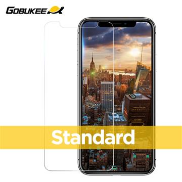Gobukee iPhone XR 全透標準版玻璃保貼(GBK0310)