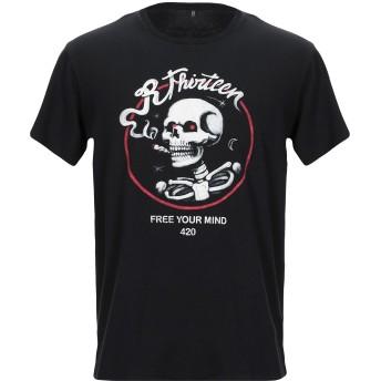 《セール開催中》R13 メンズ T シャツ ブラック S コットン 100%