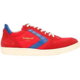 《セール開催中》VALSPORT メンズ スニーカー&テニスシューズ(ローカット) レッド 41 革 / 紡績繊維