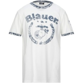 《セール開催中》BLAUER メンズ T シャツ ホワイト S コットン 100%