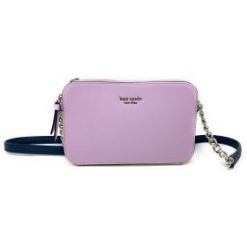 ケイト・スペード ニューヨーク キャメロン ダブルジップ スモール クロスボグ バッグ US サイズ: One Size カラー: パープル