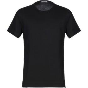 《セール開催中》CROSSLEY メンズ T シャツ ブラック M コットン 100%
