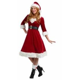 即納 サンタコスプレ クリスマス衣裳 V051 4点セット サンタコス レディース コスチューム クリスマスパーティへ 激安