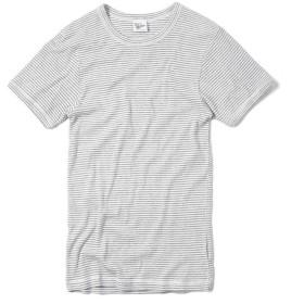 MILLER ミラー 101C リブ ラウンド ネック Tシャツ(M B-GRAY)