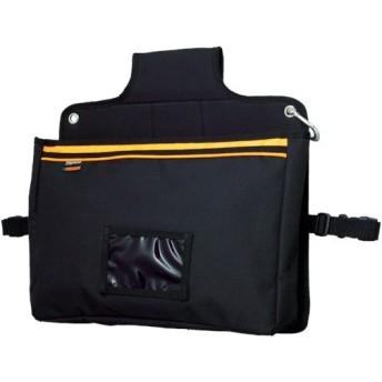 取寄 TOPDBB 楽チン台車バッグ マチ付きポケット型 ブラック TRUSCO(トラスコ) 1個
