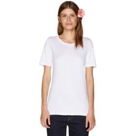 [ユナイテッドカラーズオブ ベネトン] トップス ループロゴクルーネック半袖Tシャツ レディース ホワイト XS(国内S)