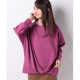 (Petit Honfleur/プチ オンフルール)裾タックドルマンプルオーバー/レディース ピンク