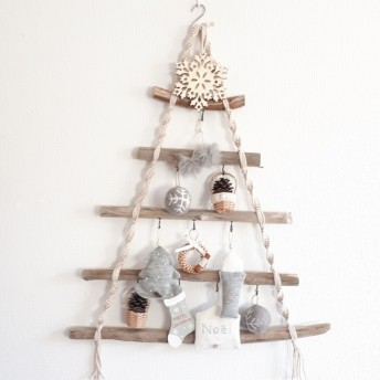 流木ツリー クリスマス 北欧