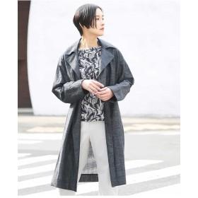 GIANNI LO GIUDICE 【日本製】テーラードデザインコート その他 コート,ネイビー
