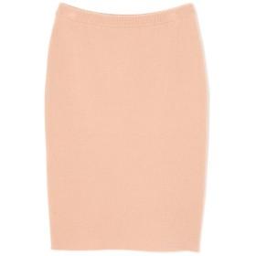 ボンディングスカート(セットアップ対応商品) ピンク