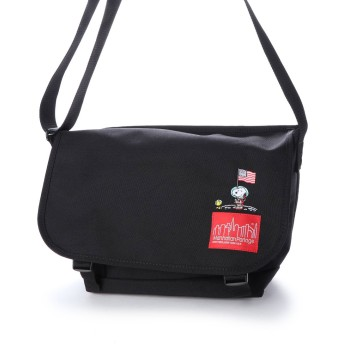 マンハッタンポーテージ Manhattan Portage Manhattan Portage × PEANUTS Casual Messenger Bag JRS (Black)