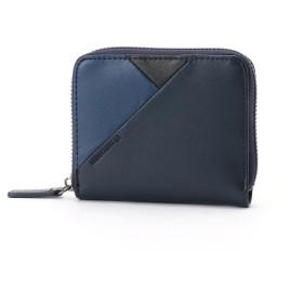 [マルイ] 切替デザイン レザー 2つ折り財布/モノコムサ(MONO COMME CA)