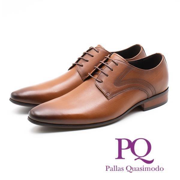 PQ 素面側車線紳士德比鞋 男鞋 棕 19111-0306-79