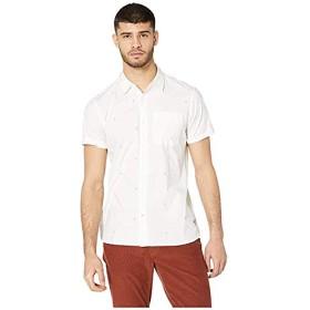 [Hurley(ハーレー)] メンズウェア・T-シャツ・トレーナー等 Palms Short Sleeve Woven Summit White US MD (M) [並行輸入品]