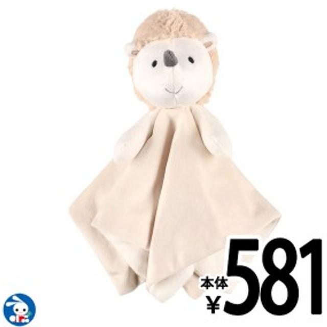 おともだち毛布(ハリネズミさん)30×30cm[ベビー毛布 毛布 ベビー 洗える 赤ちゃん ぬいぐるみ ブランケット 肌掛け 子供 子ども お昼
