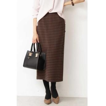 N.Natural Beauty Basic / エヌ ナチュラルビューティーベーシック サイドボタンタイトスカート