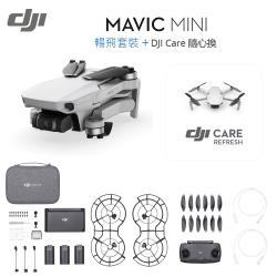 【限量加贈雙記憶卡】DJI Mavic Mini 暢飛套裝+Care隨心換---(先創公司貨)