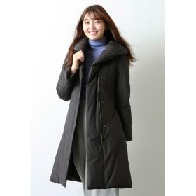 AMACA 【WEB限定】ボリュームカラーダウンコート その他 コート,ブラック