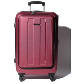 (addy selection/アディセレクション)スーツケース フロントオープン M/ユニセックス ワイン