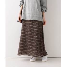SLOBE IENA LISA 小花マーメイドスカート ブラック 40