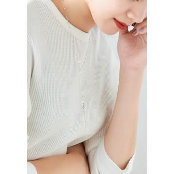 Phoebe フィービー 【SV925】シンプリーYラインネックレス ネックレス,シルバー