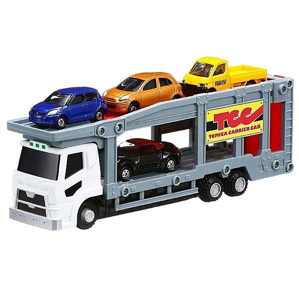 TOMICA 一起玩TOMICA小汽車 汽車運輸車套組 TOYeGO 玩具e哥