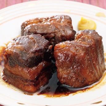鹿児島産 黒豚のやわらか角煮 200g×2袋