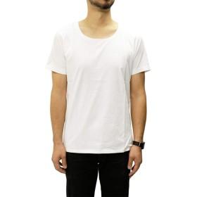 [DENHAM(デンハム)] Tシャツ ボート ネック TUBULAR BOAT TJ [メンズ] (001/ホワイト 【L】)