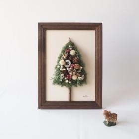 ︎New!小さな森のクリスマスツリー ︎洋書ペーパー一枚おまけ付き