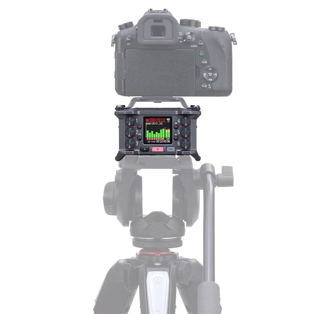 ◎相機專家◎ ZOOM F6 數位多軌錄音機 6軌 錄音器 混音器 可攜式 收音 XLR TRS 記錄儀 公司貨