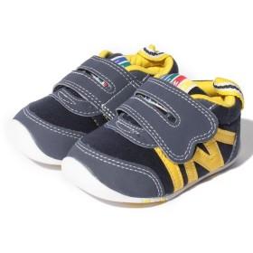 【51%OFF】 イフミー ファーストシューズ22-6704子供靴 レディース NAVY 11.5 【IFME】 【タイムセール開催中】