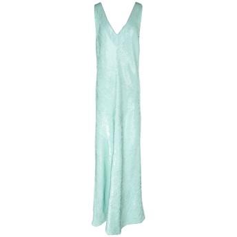 《セール開催中》BLUMARINE レディース ロングワンピース&ドレス ライトグリーン 46 ポリエステル 100% / ポリ塩化ビニル