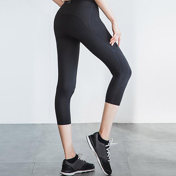 瘋搶699 LEAP 女子限定Ultra fit 運動壓縮緊身七分褲S/M/L/XL《WUZ屋子》