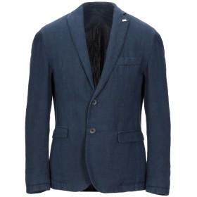 《セール開催中》BARBATI メンズ テーラードジャケット ダークブルー 48 コットン 59% / 麻 41%