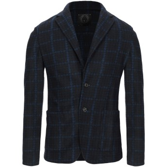 《セール開催中》T-JACKET by TONELLO メンズ テーラードジャケット ブラック L ポリエステル 45% / ナイロン 30% / バージンウール 25%