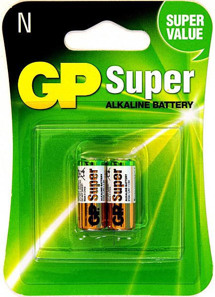 GP超霸高伏特鹼性電池5號2入