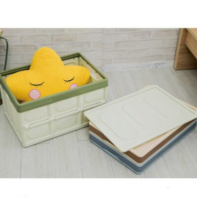 【ikloo】日系萬用摺疊收納箱 可堆疊 大容量◆三色可選◆全店免運