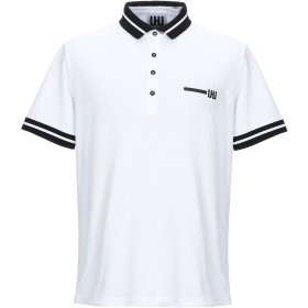 《セール開催中》LHU URBAN メンズ ポロシャツ ホワイト XS コットン 100%