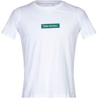 《セール開催中》MINIMUM メンズ T シャツ ホワイト S コットン 100%