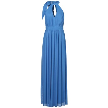 《セール開催中》LIPSY レディース ロングワンピース&ドレス ブルー 10 ポリエステル 94% / ポリウレタン 6%