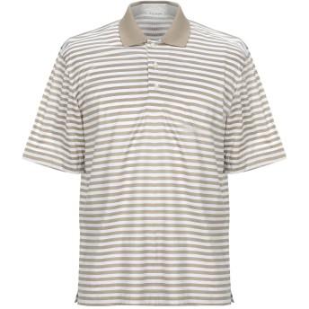 《セール開催中》GRAN SASSO メンズ ポロシャツ ベージュ 48 コットン 100%