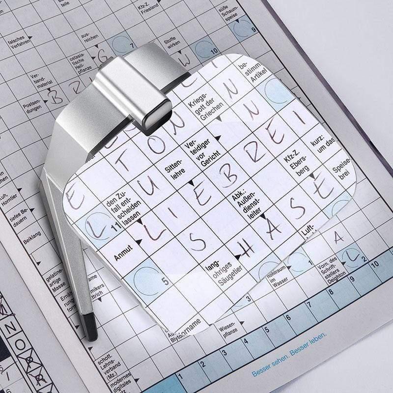 scribolux 2.8x/7D 德國製LED書寫專用立座式非球面放大鏡 156512 2.8x / 7D / 100x75mm