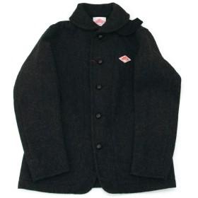 DANTON ダントン メンズ WOOL MOSSER ショールカラーシングルジャケット[JD-8237WOM]42サイズ 8 CHARCOAL