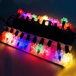 摩達客 聖誕燈-鑽石燈串 (20燈)(鎢絲燈)(可搭聖誕樹)