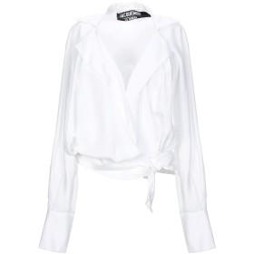 《セール開催中》JACQUEMUS レディース シャツ ホワイト 34 レーヨン 100%