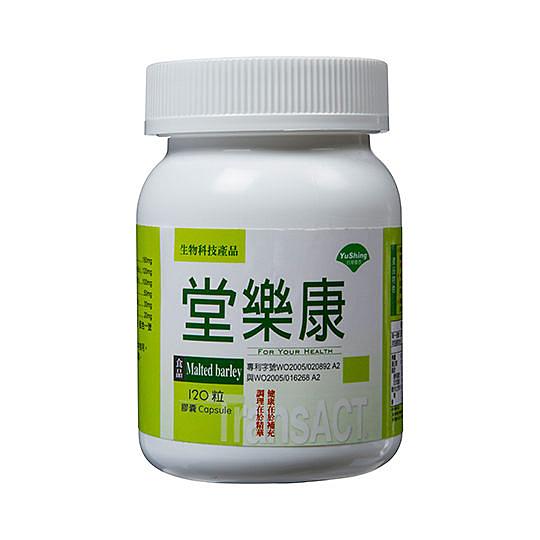 優杏~堂樂康膠囊(芝麻+大麥芽+山苦瓜)120粒/罐 ~特惠中~