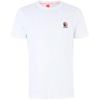 《セール開催中》CHRISTOPHER RAEBURN メンズ T シャツ ホワイト S オーガニックコットン 100%