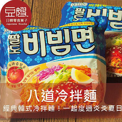 【豆嫂】韓國泡麵 Paldo 外銷版 八道香辣冷拌麵(5包/袋)